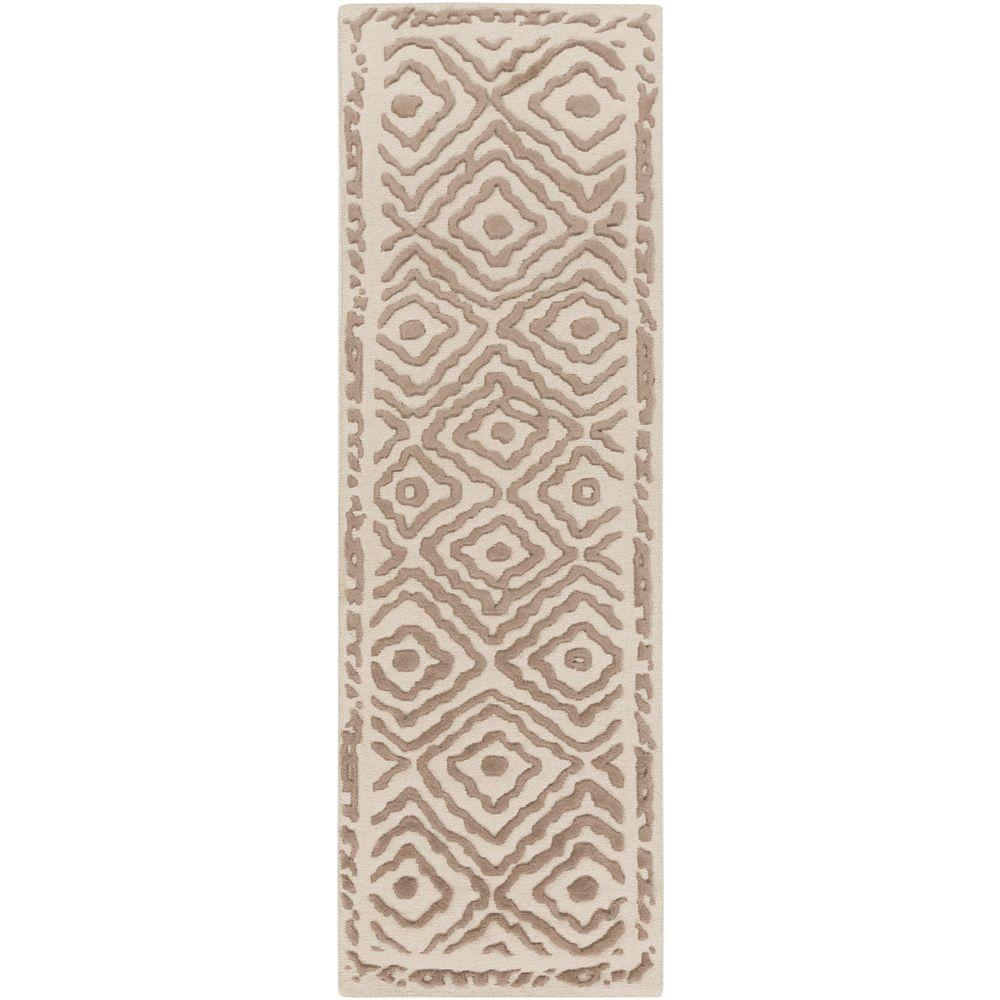 Erinome Taupe 2 ft. 6 in. x 8 ft. Indoor Rug
