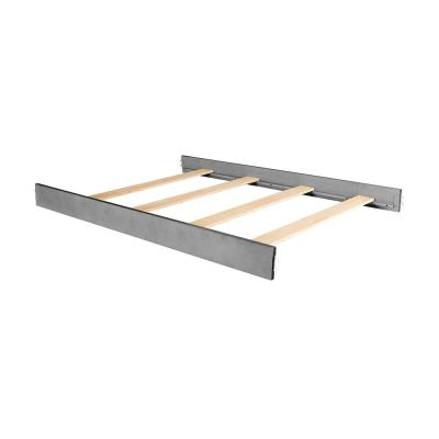 Storm Grey Wooden Full Size Bed Rail (1-Pack)