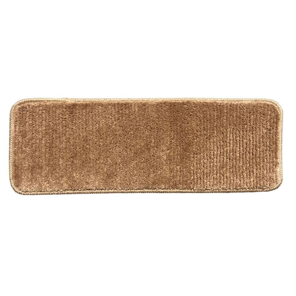 Softy Camel Hair 9 in. x 26 in. Non-Slip Stair Tread