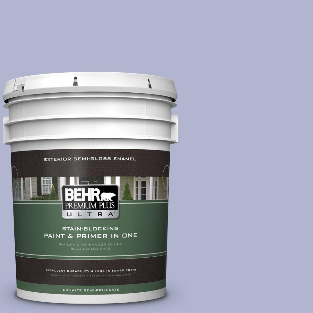 5-gal. #620C-3 Purple Surf Semi-Gloss Enamel Exterior Paint