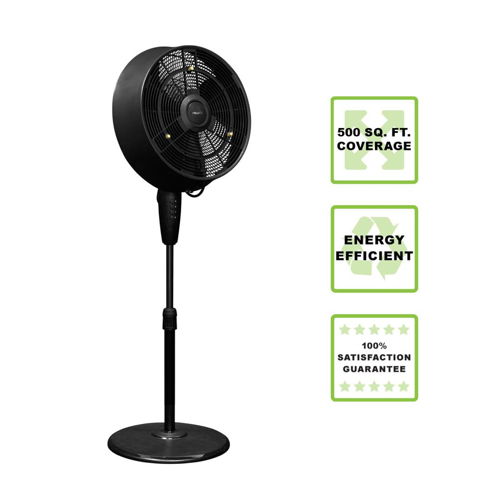 NewAir 18 in. 3-Speed Oscillating Outdoor Misting Fan