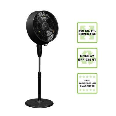 18 in. 3-Speed Oscillating Outdoor Misting Fan