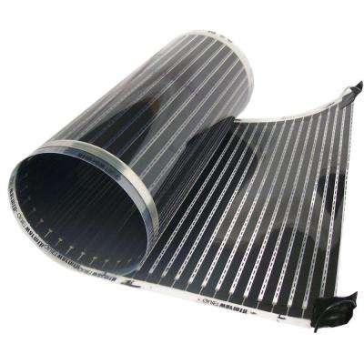 1.5 ft. x 60 in. x 0.016 in. 120-Volt Radiant Heat Film for Click-Together Floors