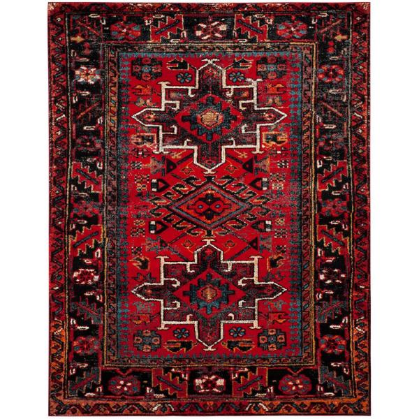 Safavieh Vintage Hamadan Red Multi 8 Ft