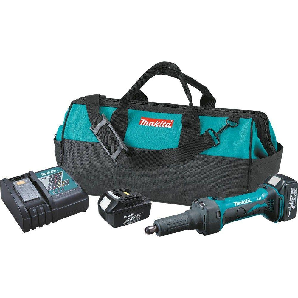Lithium Ion Battery Grinder ~ Makita volt lxt lithium ion in cordless die