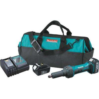 18-Volt LXT Lithium-Ion 1/4 in. Cordless Die Grinder Kit