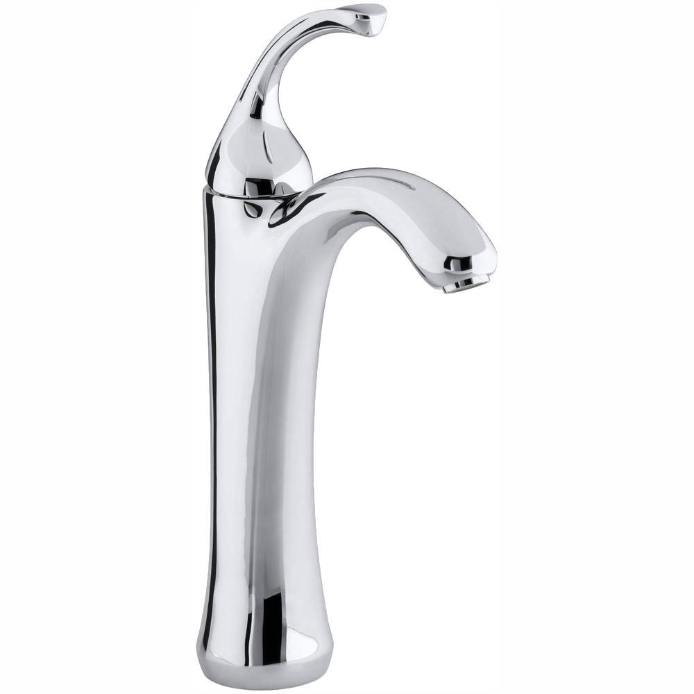Fontaine Adelais Chrome Single Post Bathroom Faucet Chrome