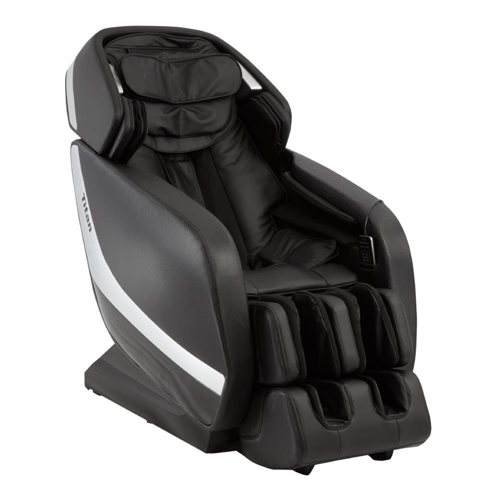 Pro Jupiter XL Series Black Faux Leather Reclining Massage Chair with