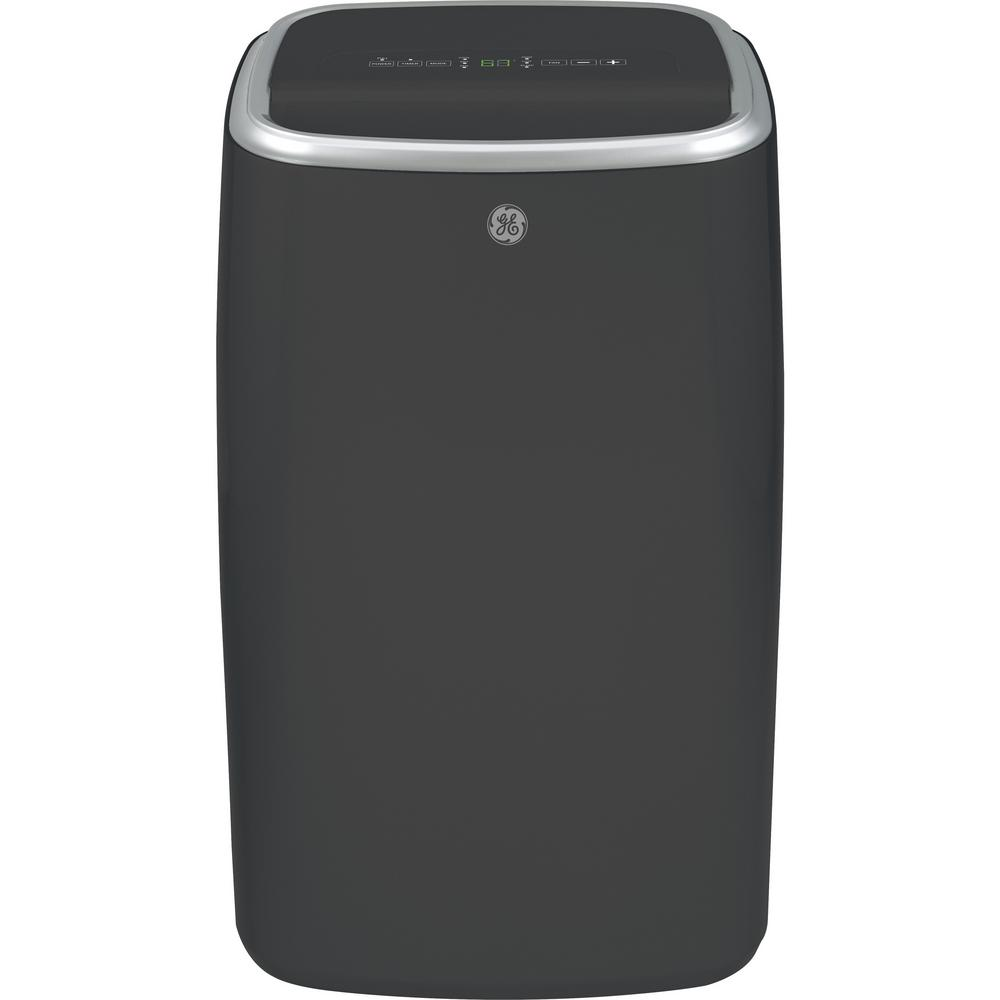 GE GE 13,500 BTU (7,850 BTU, DOE) Portable Air Conditioner with Dehumidifier and Remote in Gray