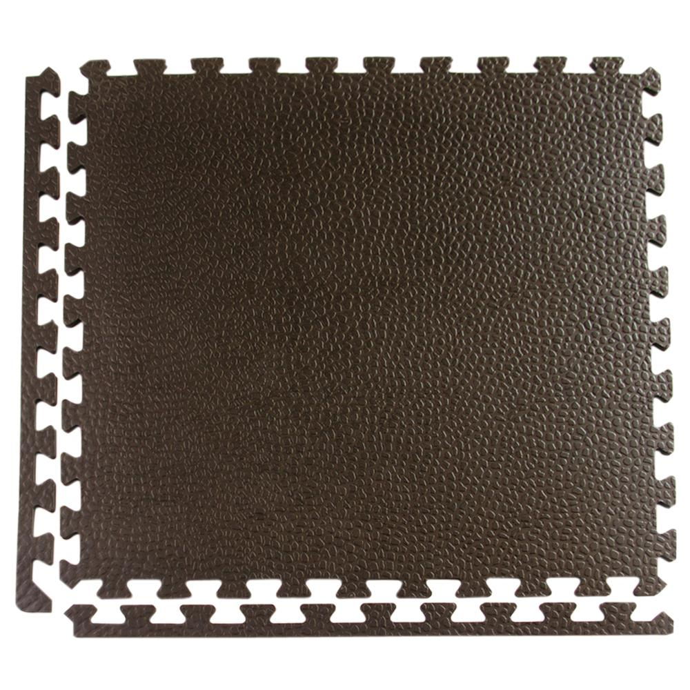 Greatmats pebble top black 24 in x 24 in x 34 in foam greatmats pebble top black 24 in x 24 in x 34 in foam interlocking gym floor tile case of 15 peb3415 the home depot doublecrazyfo Image collections