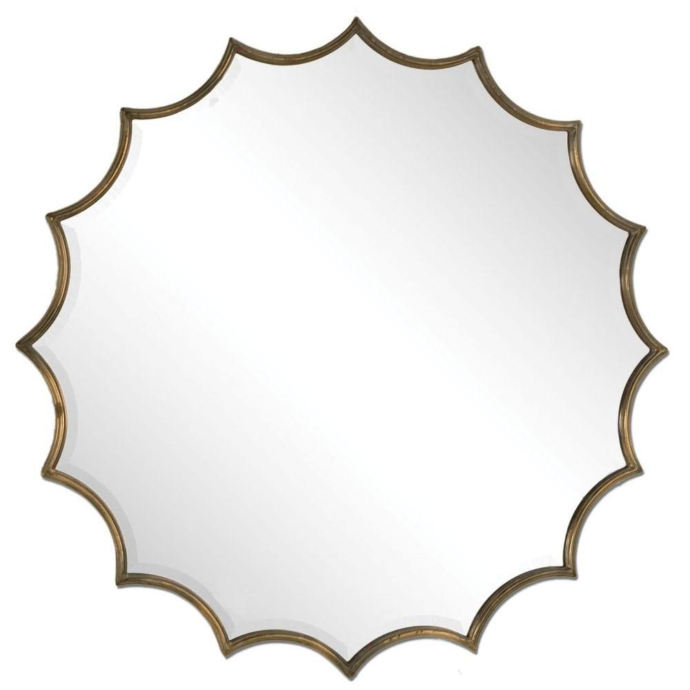 Global Direct 34 in. x 34 in. Oxidized Bronze Framed Mirror