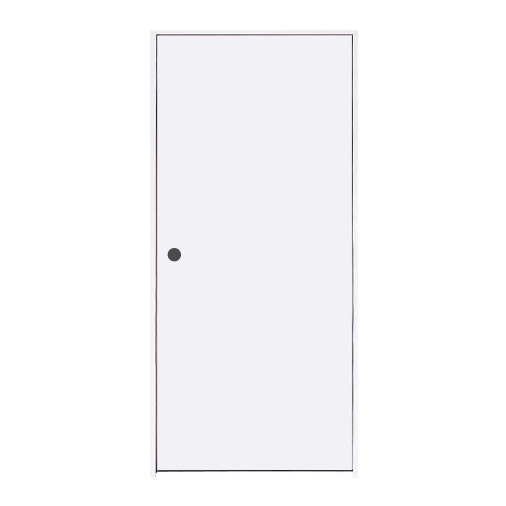jeldwen 30 in x 80 in primed righthand flush hardboard
