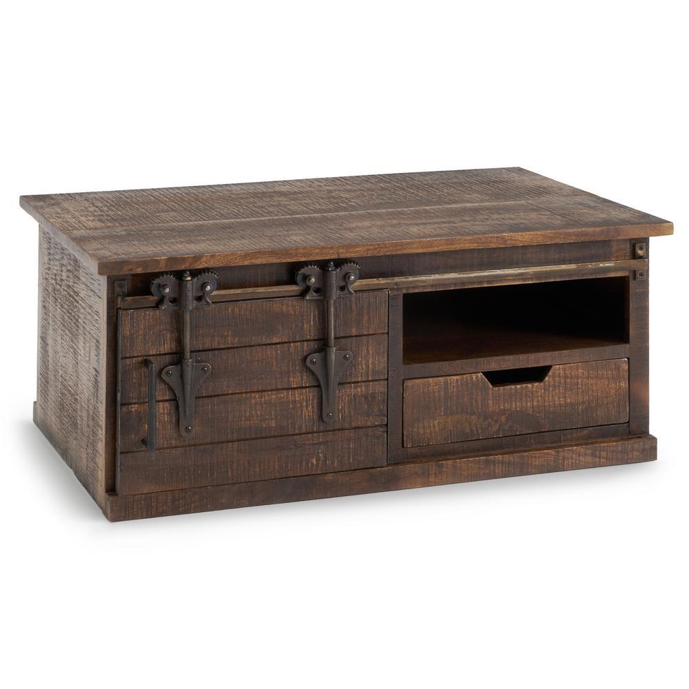Wyatt Brown Barn Door Coffee Table