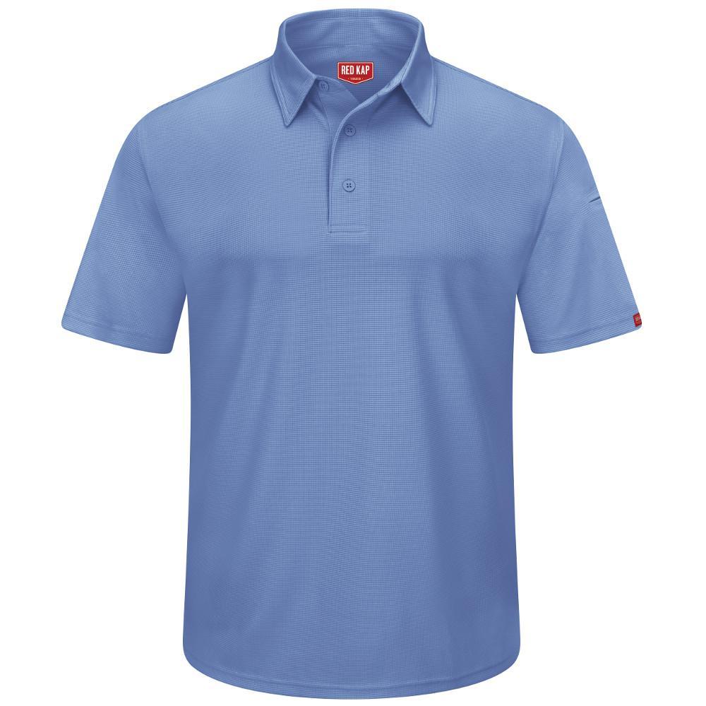 Men's Size 4XL Medium Blue Professional Polo