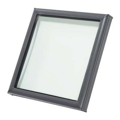 34-1/2 in. x 34-1/2 in. Fixed Curb-Mount Skylight with Tempered Low-E3 Glass