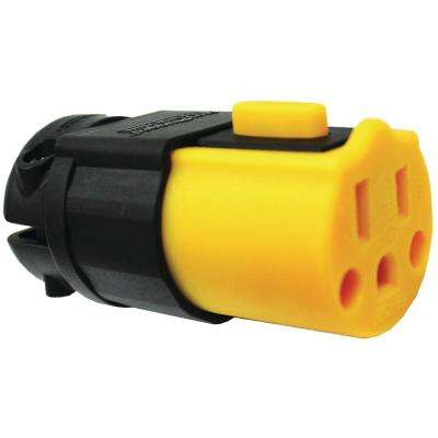 15 Amp Stay Plugged Cord Replacement End