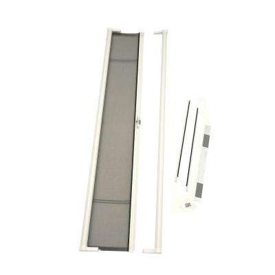 36 in. x 78 in. Brisa White Short Height Retractable Screen Door