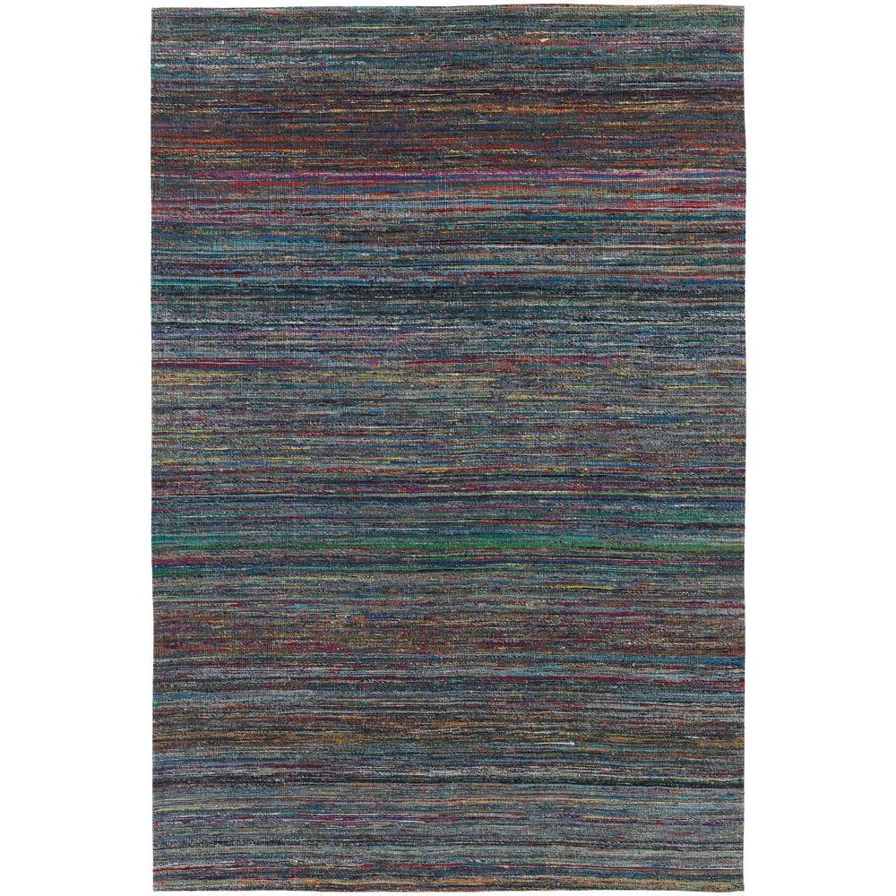 Shenaz Blue/Multi 8 ft. x 11 ft. Indoor Area Rug