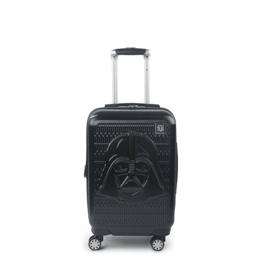 Star Wars Darth Vader Embossed 21 in. Black Spinner Suitcase