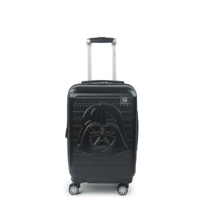 Darth Vader Embossed 21 in. Black Spinner Suitcase