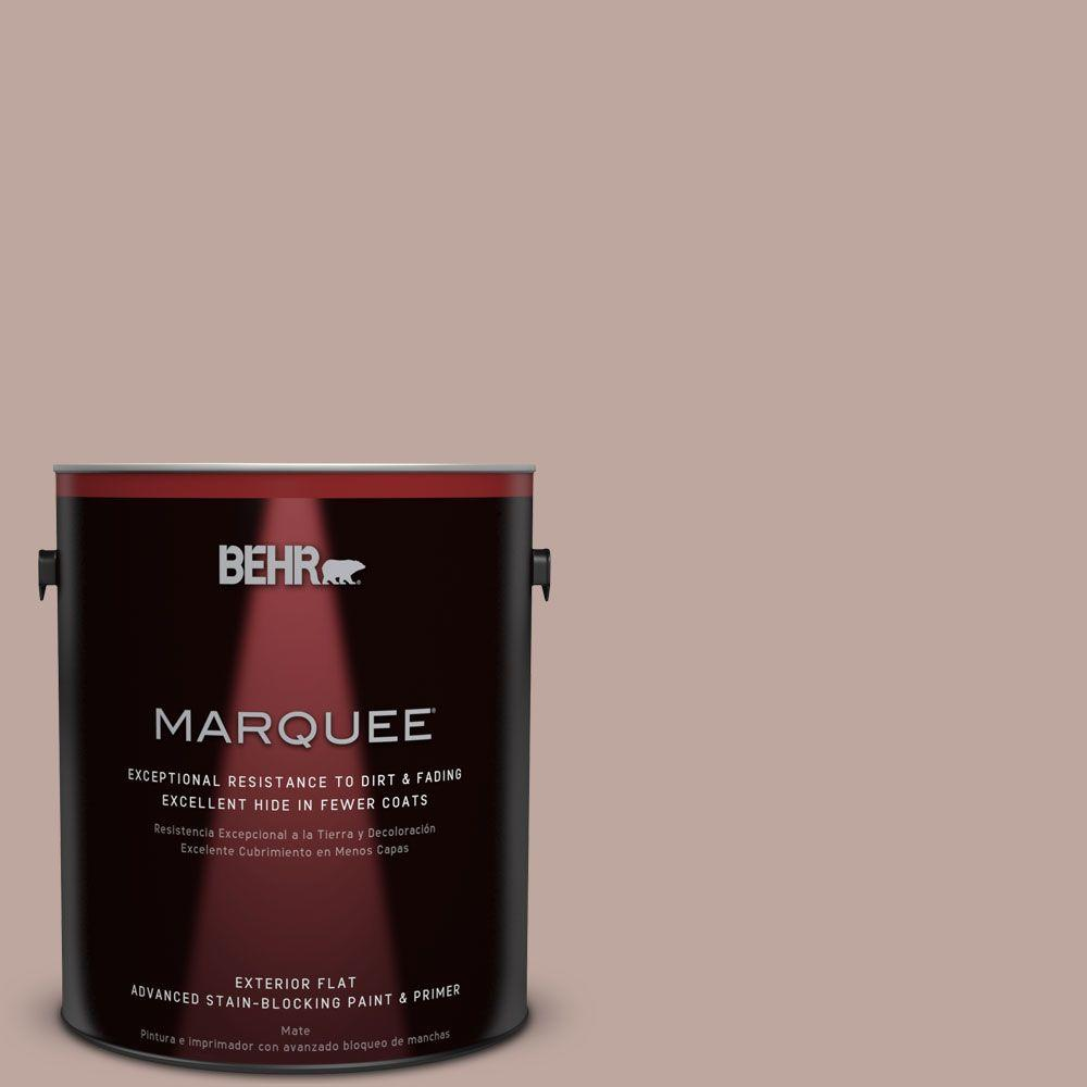 1-gal. #PWL-88 Heavenly Cocoa Flat Exterior Paint