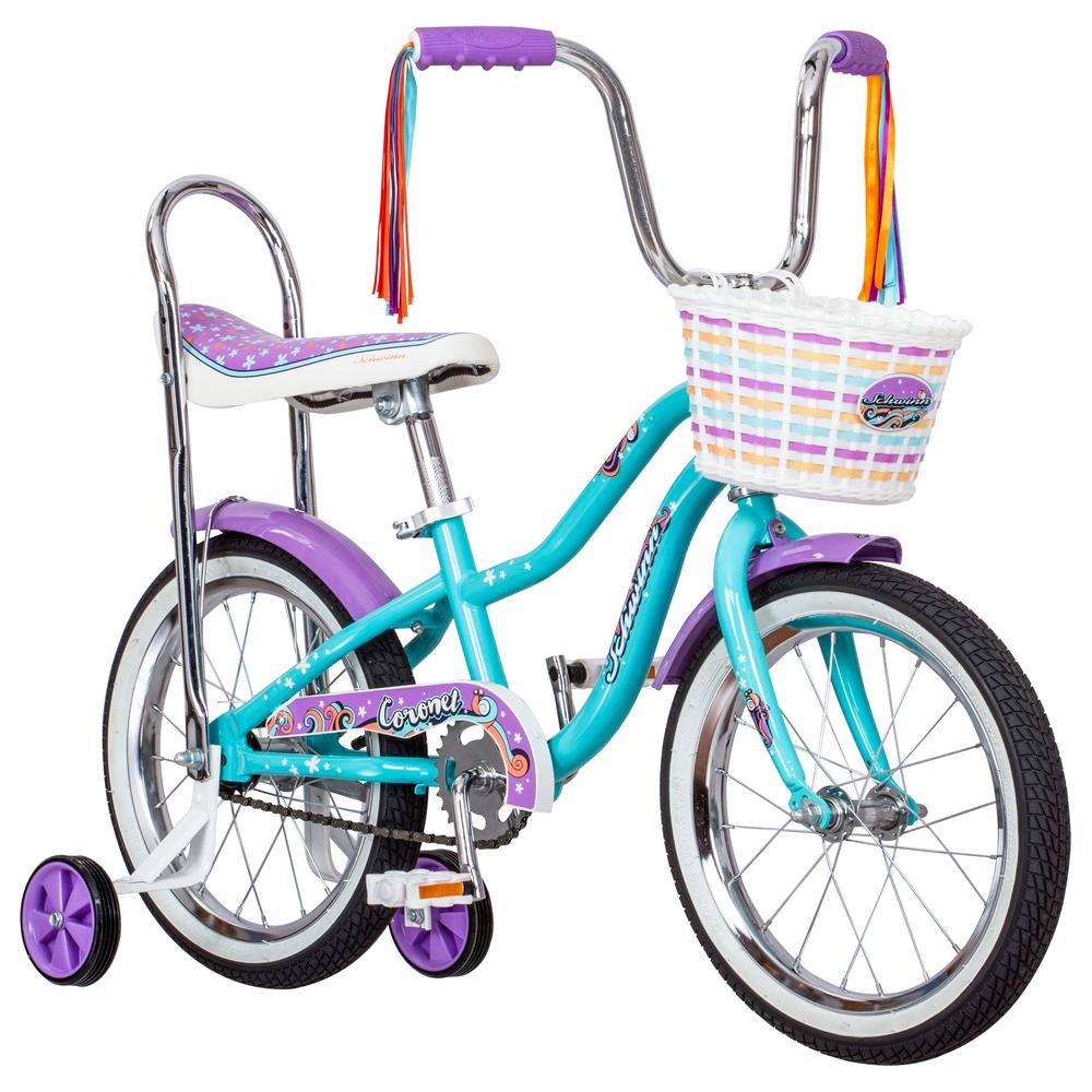 Schwinn 16 in  Girl's Bike for Ages 3-Years to 5-Years in Teal