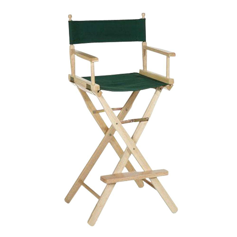 Directoru0027s Chair Natural Solid Wood Frame