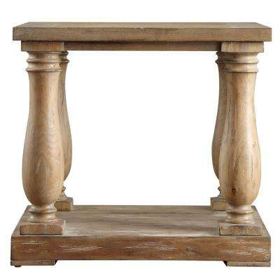 Malvern Hill Distressed Pine End Table