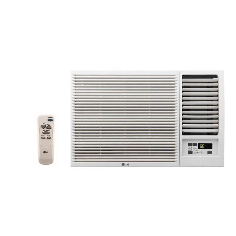 7,500 BTU 115-Volt Window Air Conditioner with Heat