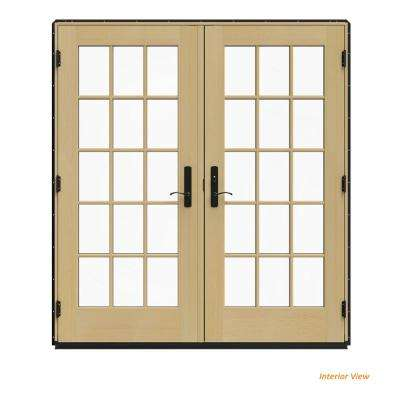 Black Patio Doors Exterior Doors The Home Depot