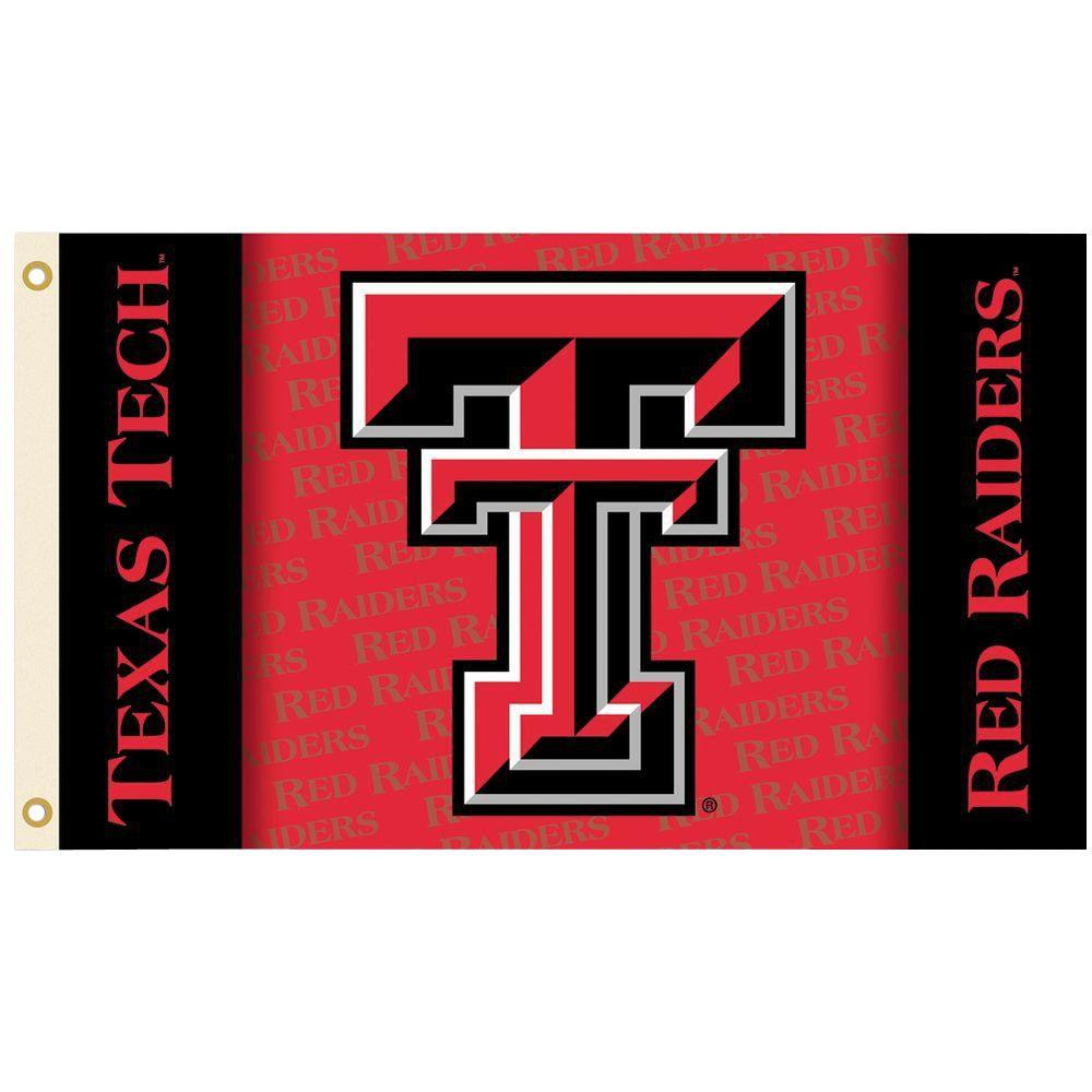 BSI Products NCAA 3 ft. x 5 ft. Texas Tech Flag