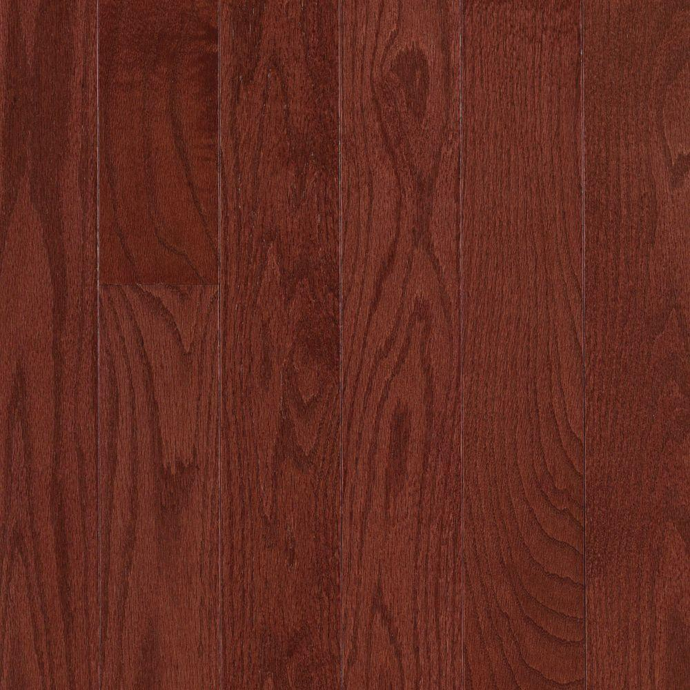 Mohawk Raymore Oak Cherry 3/4 in. Thick x 2-1/4 in. Wide x Random Length Solid Hardwood Flooring (18.25 sq. ft. / case)