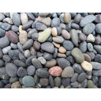 1.10 cu. ft., 75 lb., 1/4 in. to 1/2 in. Mixed Mexican Beach Pebble (40-Bag Contractor Pallet)