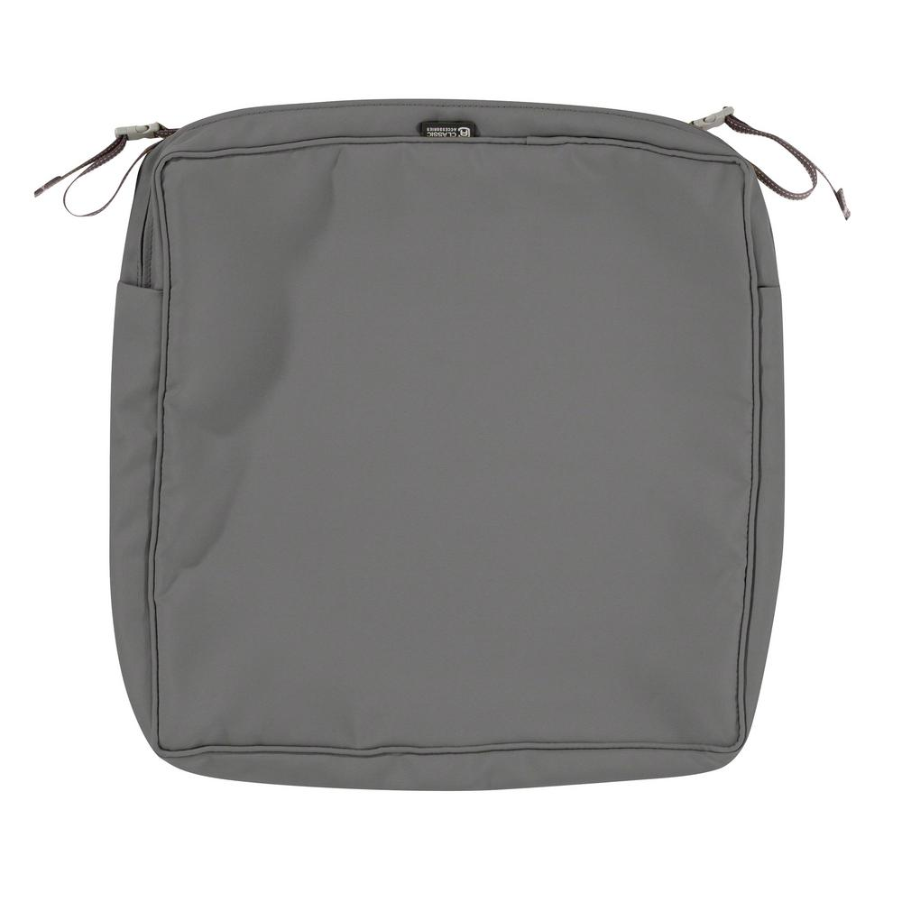 classic accessories montlake fade safe light charcoal 17 in square
