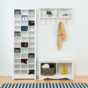 Genial +5. Prepac White Space Saving Shoe Storage Cabinet