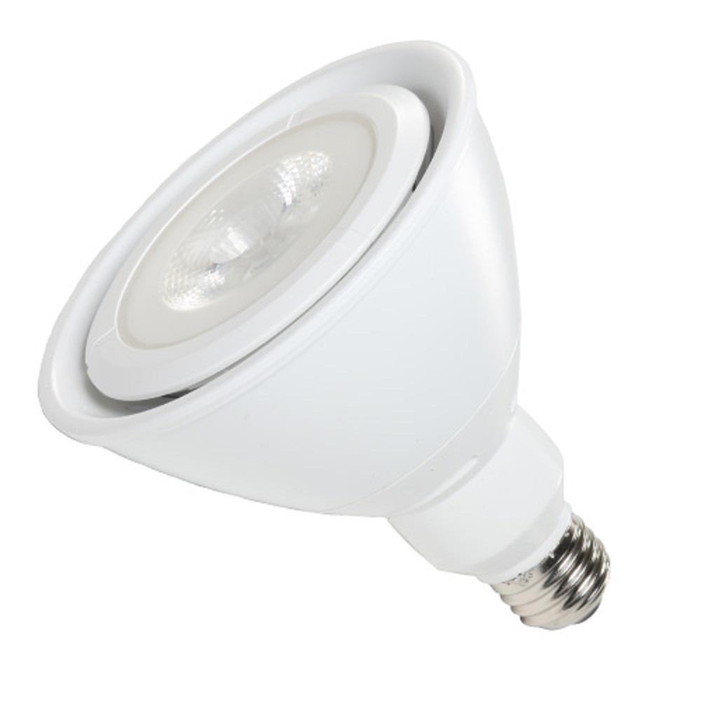 100-Watt Equivalent 17-Watt White PAR38 Dimmable ENERGY STAR Flood LED Light Bulb 90CRI Warm White 2700K 83023