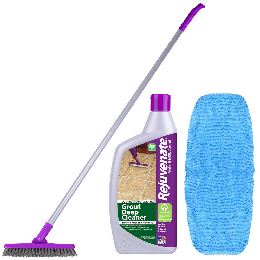 Rejuvenate Tile & Grout Cleaner Kit-RJ16DCKIT - The Home Depot