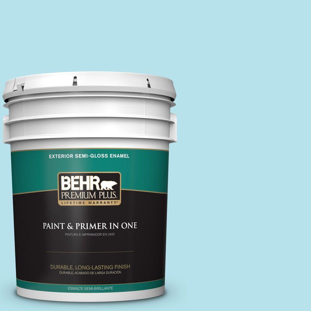 5-gal. #510A-3 Fresh Water Semi-Gloss Enamel Exterior Paint