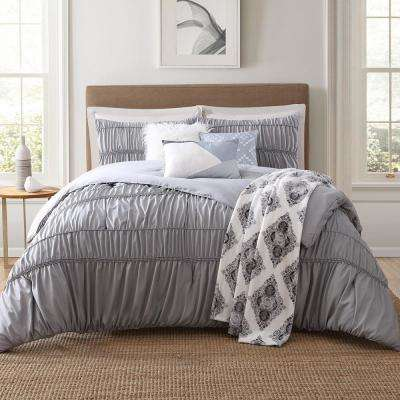Lending 7-Piece Multi Full and Queen Comforter Set