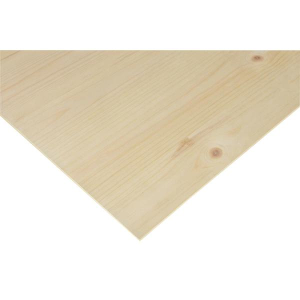 1/4 in. x 2 ft. x 4 ft. PureBond Knotty Pine Plywood Project Panel