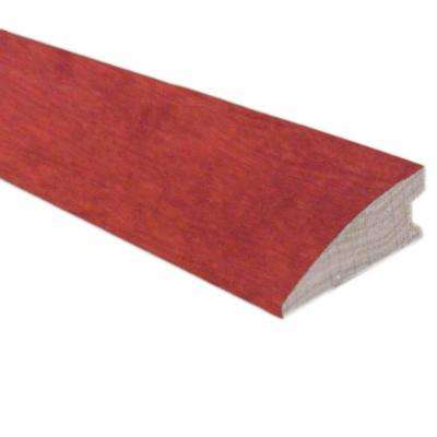 Birch Cognac 3/4 in. Thick x 1-5/8 in. Wide x 78 in. Length Flush-Mount Reducer Molding