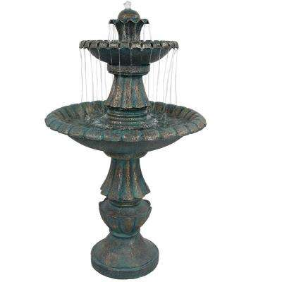 41 in. Nouveau Tiered Outdoor Water Fountain