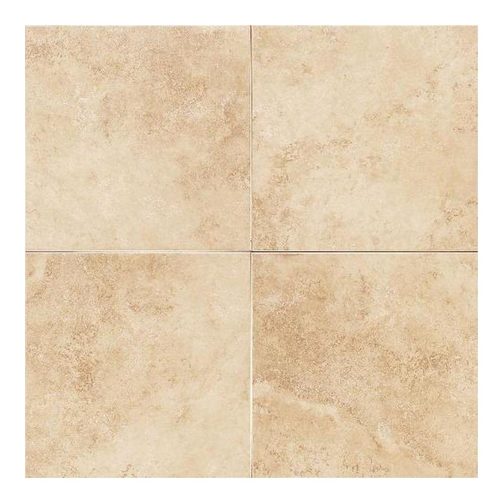 12x12 eliane tile flooring the home depot salerno nubi bianche 6 in x 6 in ceramic floor and dailygadgetfo Image collections