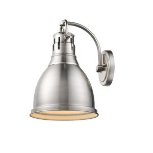 Duncan Collection 1-Light Pewter Sconce