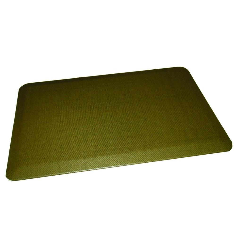 Rhino Anti Fatigue Mats Comfort Craft Reed Cactus 24 In X
