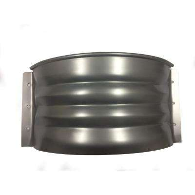 Vestal 20 in. x 12 in. Galvanized Metal Round Vent Well