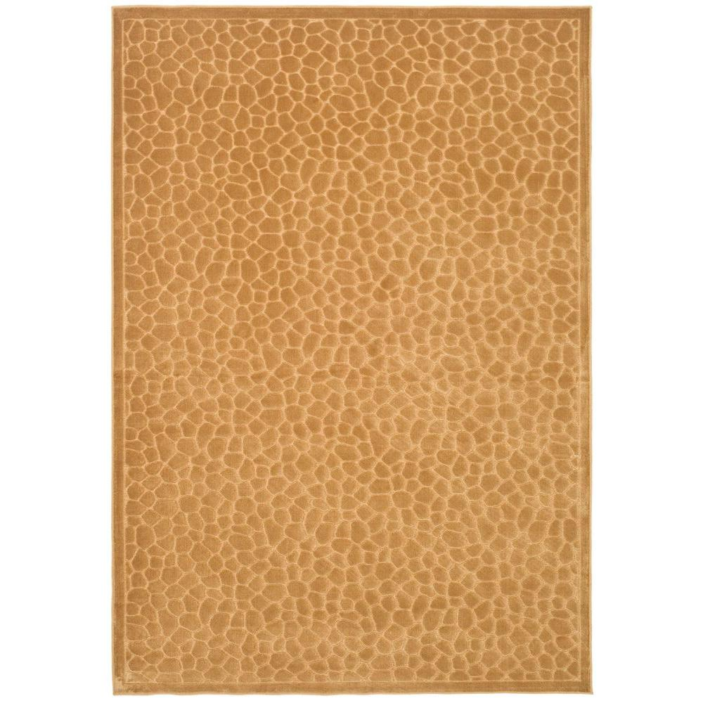 Martha Stewart Living Reptilian Taupe 4 ft. x 5 ft. 7 in. Area Rug