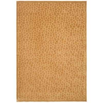 Martha Stewart Reptilian Taupe 8 ft. x 11 ft. Area Rug