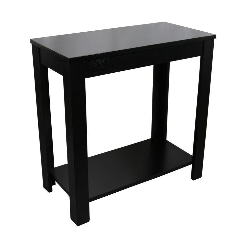 Black End Tables Accent Tables The Home Depot