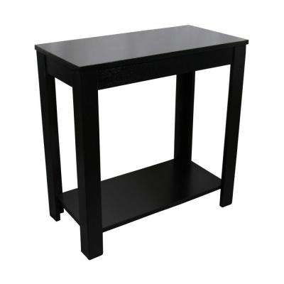 Black End Table End Tables Accent Tables The Home Depot